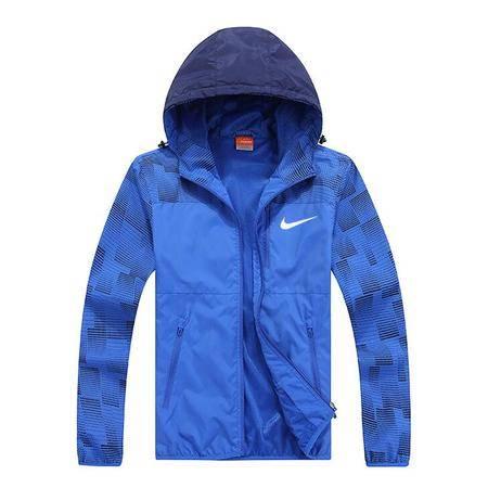 Nike 耐克 男子运动连帽防风衣夹克外套 男士休闲运动外套上衣