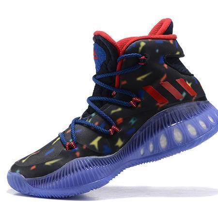 阿迪达斯3D crazy explosive boost 万圣节男子高帮篮球鞋 休闲运动缓震男鞋