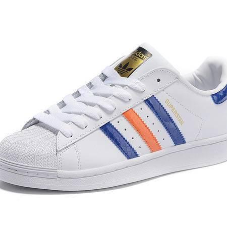 阿迪达斯男鞋 Adidas 三叶草 贝壳头板鞋 男子休闲女板鞋轻便低帮运动情侣鞋
