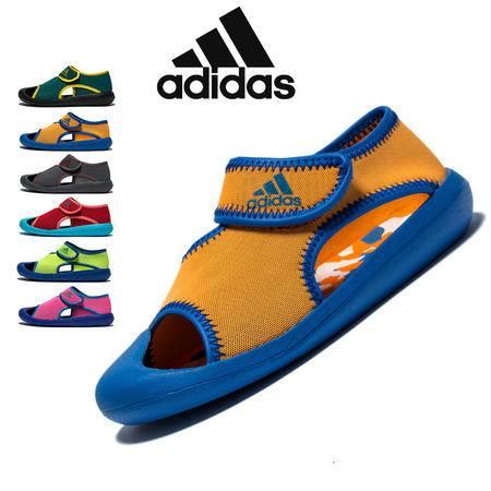 adidas阿迪达斯 三叶草 男女童鞋小童沙滩游泳鞋包头凉鞋