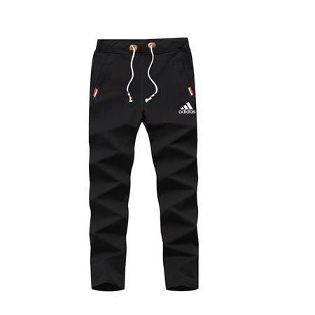 Adidas阿迪达斯新款男士大码休闲裤男子裤子青少年直筒跑步运动裤长裤卫裤