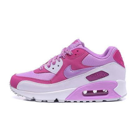 耐克女鞋Nike Air Max 90女子气垫透气休闲网面运动跑步鞋724855-500