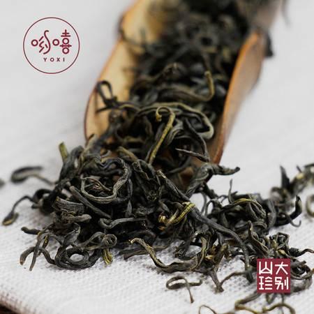 哟嘻yox岳西玄月 罐装 高山绿茶 炒青绿茶 味浓耐泡 60g