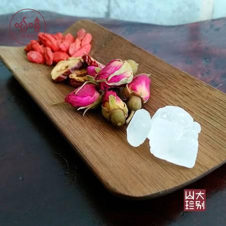 哟嘻玫瑰枸杞红枣茶(含玫瑰花枸杞红枣片单晶冰糖)80g