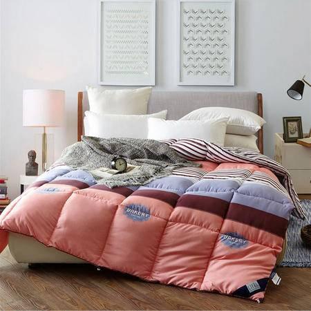 民心 2016新款时尚卡通保暖磨毛印花秋冬被子 床上用品 被芯
