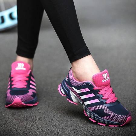 运动鞋 女低帮鞋百搭女鞋女潮运动 平底鞋春秋女厚底休闲鞋跑步鞋