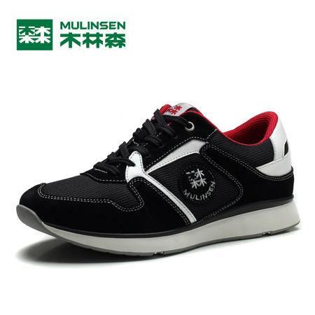 木林森冬季男鞋运动鞋男士休闲鞋韩版低帮透气跑步鞋学生鞋260005