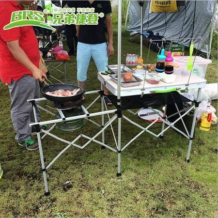 BRS野营移动厨房 户外汽油炉具炊具灶台组合 自驾游野餐装备【包邮】