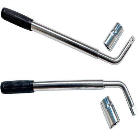 汽车用轮胎扳手套筒 可伸缩拆轮胎工具卸换拆装钢管19 21 27寸
