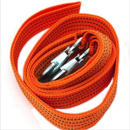 汽车拖车绳 应急绳 汽车牵引绳 长3米承重3吨 拖车带 越野拖车钩