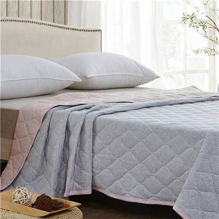 欧的家纺纯棉针织棉夏被全棉空调被1.5-1.8米床铺