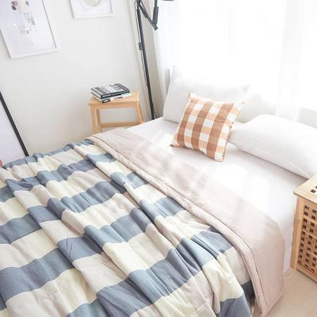 欧的家纺水洗棉纯棉春夏多用全棉空调被