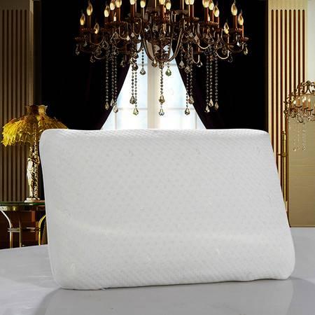 欧的家纺床上用品面包乳胶保健枕芯枕头