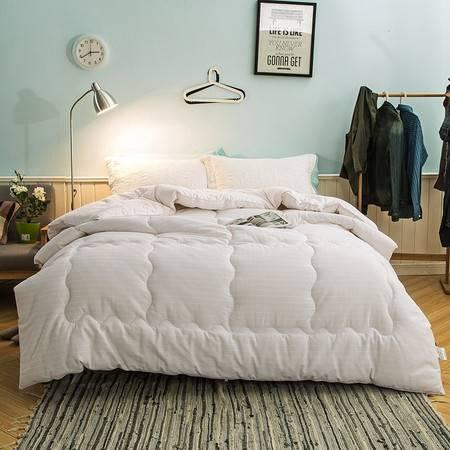 欧的家纺全棉磨毛秋冬舒适柔软保暖纯棉透气多用被1.5-1.8-2.0米床铺