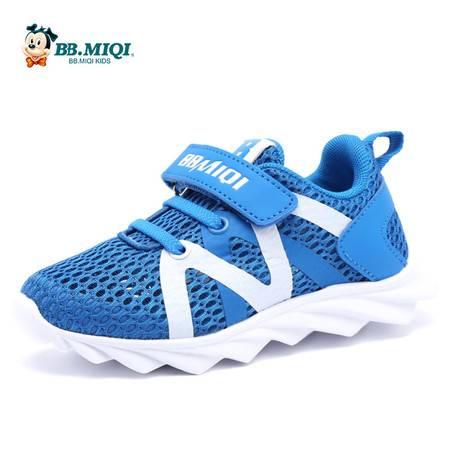 百变米奇男童鞋夏季新款网布镂空透气鞋开心米奇女童鞋休闲运动鞋