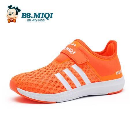 百变米奇童鞋夏季新款男童鞋开心米奇网布镂空女童鞋休闲鞋运动鞋