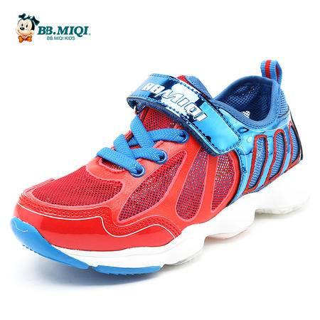 开心米奇童鞋2016夏季新款男童鞋单网透气女童鞋休闲儿童鞋运动鞋
