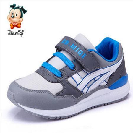 百变米奇童鞋男童鞋儿童运动鞋跑步鞋休闲鞋透气中童小孩2016秋季