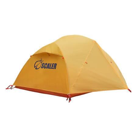 思凯乐Z6412022户外登山野营帐篷2人双人双层黄金顶V