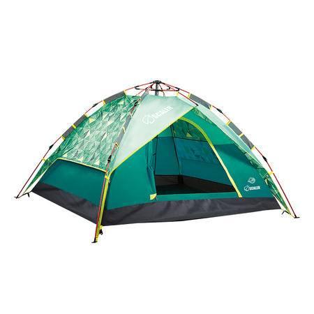 思凯乐户外装备 公园休闲露营防风防暴雨3-4人三季自动帐篷z6453027