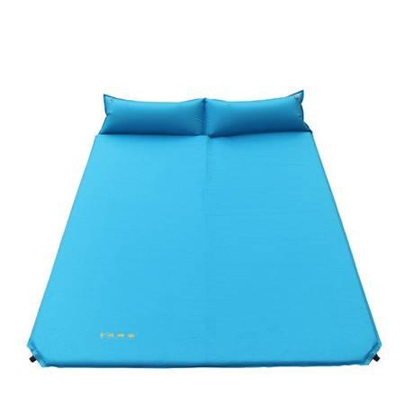 徽羚羊户外双人自动充气垫 加宽加厚防潮帐篷充气床