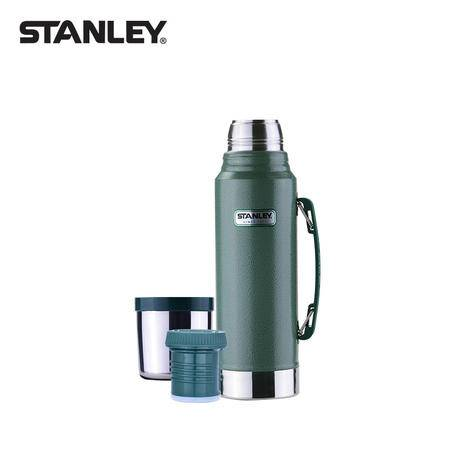 stanley保温壶大容量保温杯不锈钢户外旅行家用保暖瓶车载水壶1L