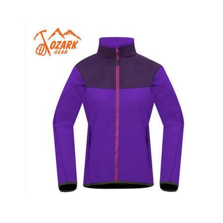 OZARK/奥索卡 户外女款双色Fleece夹克保暖抓绒衣中层外套