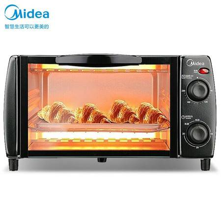 美的(Midea)用多功能迷你小烤箱 10升家用容量T1-108B