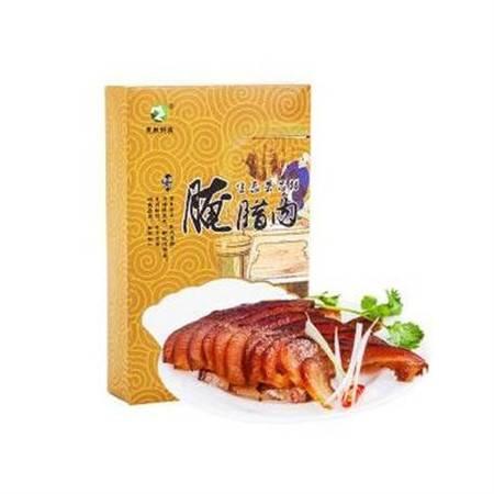 重庆美食  荣昌特产  荣昌猪  荣牧腌腊制品  腊猪脸400g