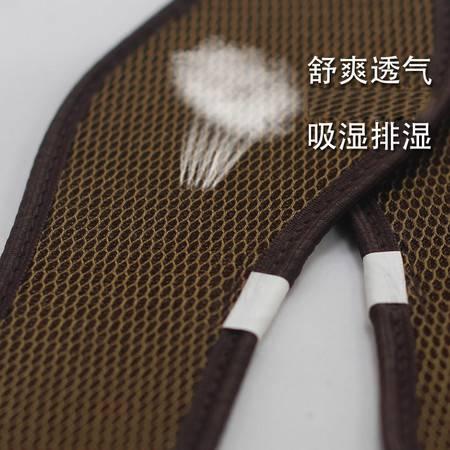 西木 竹利健 3双竹炭网眼鞋垫 春夏季防臭除臭 干爽运动透气舒适男女式鞋垫 XD01