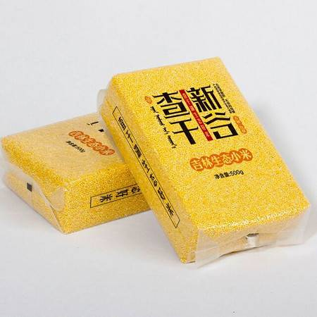 查干新谷碱地小米10斤包邮