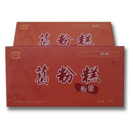 望林葛粉纯天然 湖北宜昌 三峡特产 深山葛根 野生葛粉糕150g盒装板栗味