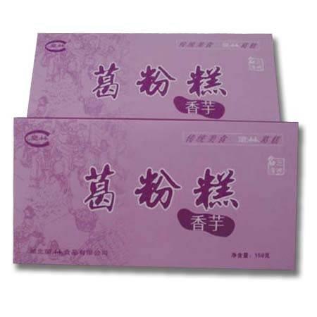 望林葛粉纯天然 湖北宜昌 三峡特产 深山葛根 野生葛粉糕150g盒装香芋味