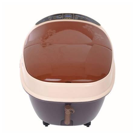朗悦全自动加热足浴盆电动3D按摩泡脚盆洗脚盆气泡家用足浴器深桶LY-810A