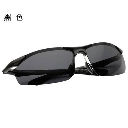 米艾尔 太阳镜男款铝镁运动偏光太阳眼镜司机驾驶镜墨镜8179  标准