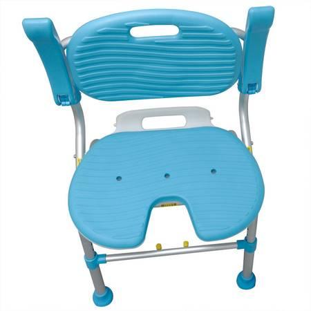 特高步 老人洗澡椅TacaoF孕妇浴室防滑折叠SCU01沐浴椅淋浴椅浴凳