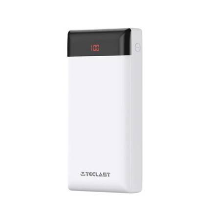 台电 充电宝超薄聚合物移动电源20000毫安手机快充通用金属便携T100M/C20