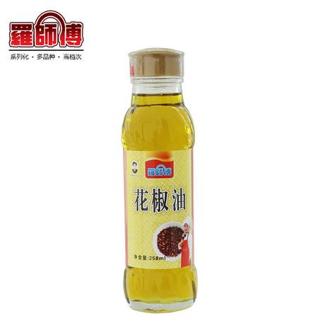 罗师傅粮油 花椒油 调味油 258mL