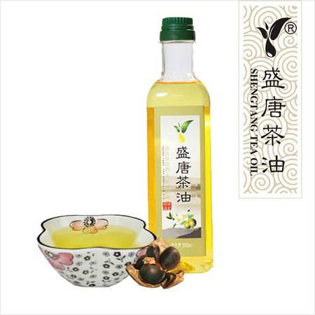 S-813A盛唐茶油 压榨一级 山茶油 食用油非转基因纯茶油500ml
