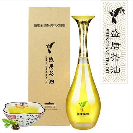 S-807盛唐茶油 压榨一级 山茶油 食用油非转基因纯茶油礼盒400ml
