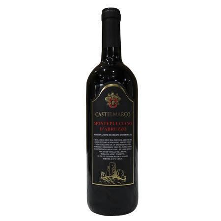 蒙蒂普尔查诺 红葡萄酒 意大利Castemarco Montepulciano [750ml]