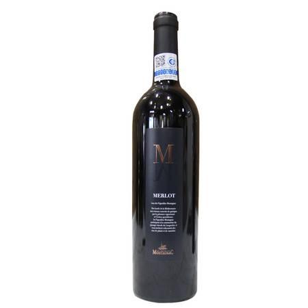 蒙塔那美乐 葡萄酒 法国Montagnac Merlot [750ml]