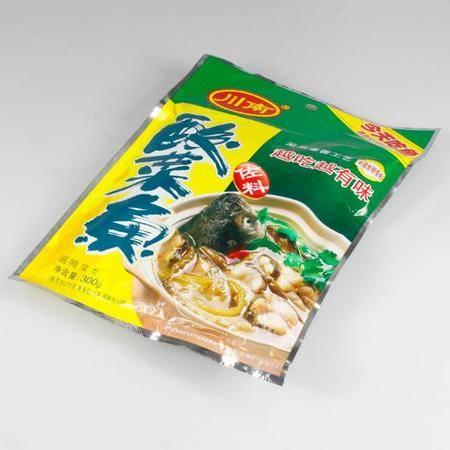【浙江百货】川南酸菜鱼调料300g 1包