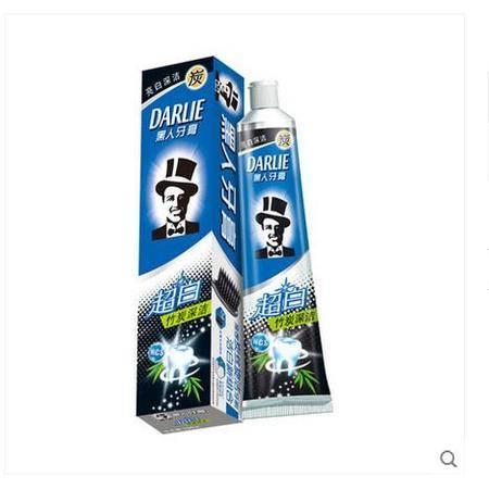 【浙江百货】黑人超白竹炭深洁牙膏90g