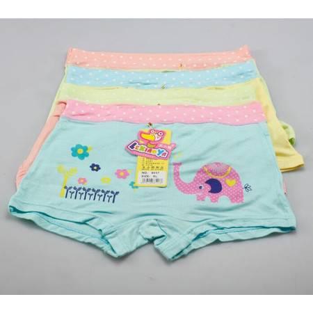 【浙江百货】女童平角内裤2条