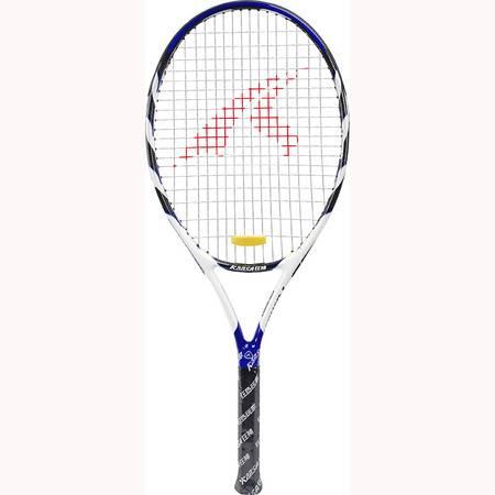 【浙江百货】批发狂神铝合金一体网球拍0832