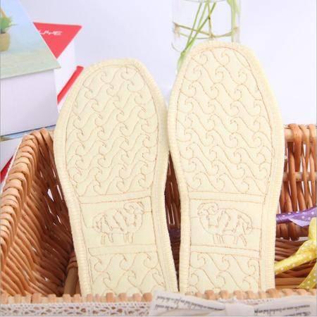 【浙江百货】 羊绒鞋垫 6双 YZ  A456
