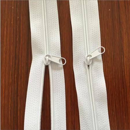 【浙江百货】3号尼龙拉链白色1.3米 YZ  A020