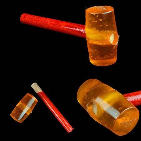 【浙江百货】 橡胶锤(商品尺寸:300*120*70/mm)F3446    LH