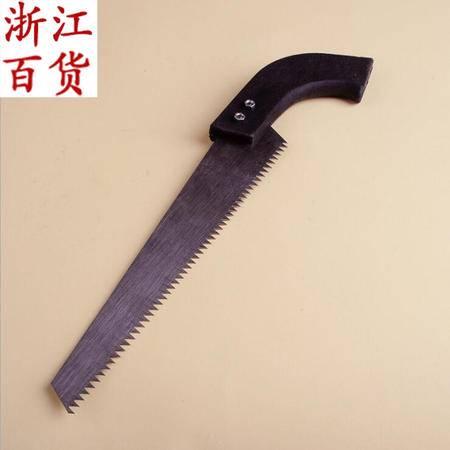 【浙江百货】 家用手锯 木工锯 黑红园林手板锯 JQF 05123